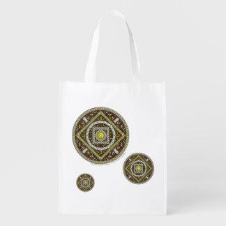 Gemini Reusable Grocery Bag