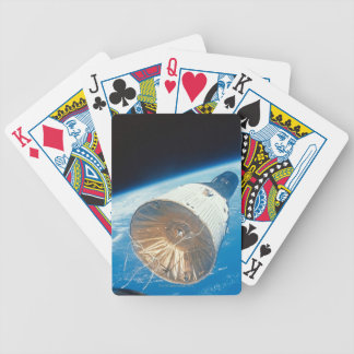 Gemini Space Capsule Bicycle Playing Cards