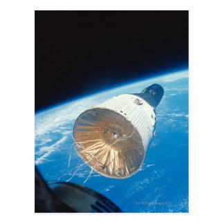 Gemini Space Capsule Postcard