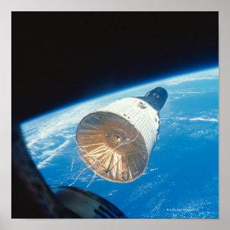 Gemini Space Capsule Poster