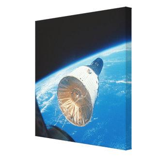 Gemini Space Capsule Stretched Canvas Prints