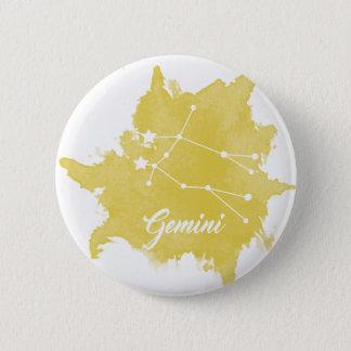 Gemini Star Sign Button