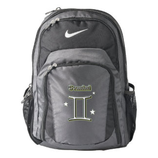Gemini symbol backpack