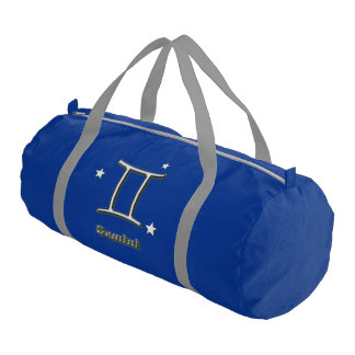 Gemini symbol gym bag