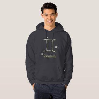 Gemini symbol hoodie