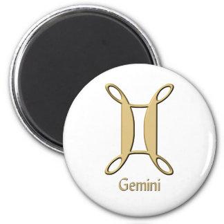 Gemini symbol magnet
