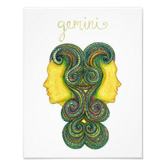 Gemini Symbol Photo Print