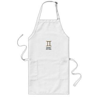 Gemini the twins apron