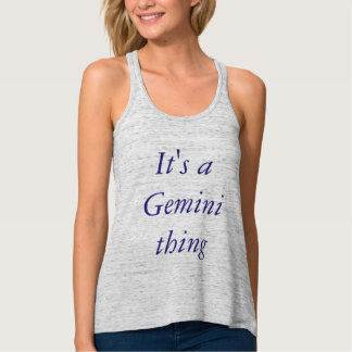 Gemini Thing Tank Top