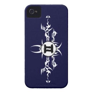 Gemini Tribal Dark Blackberry Case