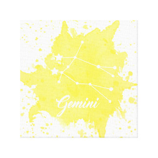 Gemini Yellow Wall Art