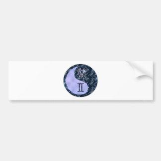 Gemini Yin Yang Bumper Sticker