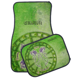 Gemini Zodiac Astrology design Car Mat