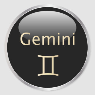 Gemini zodiac astrology,  star sign stickers