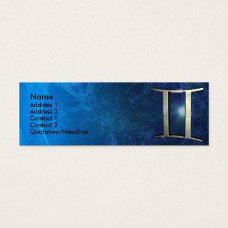 Gemini Zodiac Business Card Template