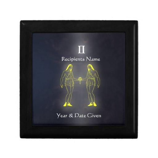Gemini Zodiac Collection Jewellery Box Gift Boxes
