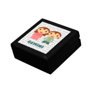 Gemini Zodiac for Kids Jewelry Box