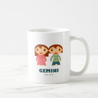 Gemini Zodiac for kids Classic White Coffee Mug
