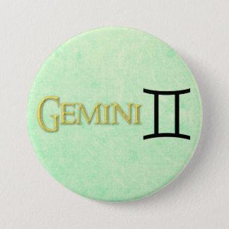 Gemini Zodiac Horoscope Sign Button