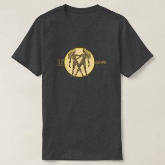 Gemini Zodiac Pearl color Designer T-Shirt