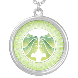 Gemini Zodiac Pendant Necklace
