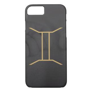Gemini Zodiac Sign   Custom Background iPhone 8/7 Case