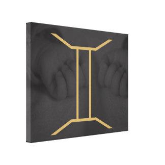 Gemini Zodiac Sign | customizable Background