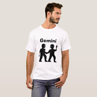 Gemini Zodiac Sign Mens Shirt