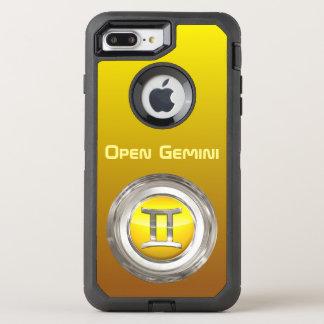 Gemini Zodiac Sign OtterBox Defender iPhone 8 Plus/7 Plus Case