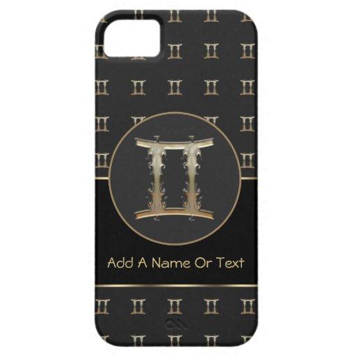 Gemini Zodiac Sign Personalized iPhone 5 Case