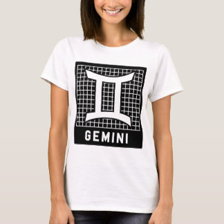 Gemini  Zodiac Sign Tee