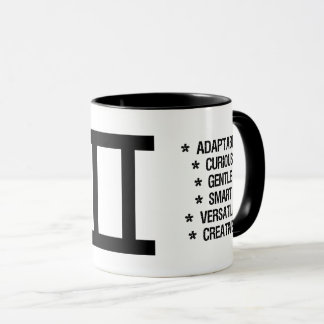 "Gemini Zodiac Sign (""the twins"") Mug"