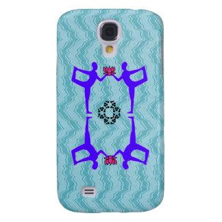 Gemini Zodiac Sign - Yoga iPhone Case Galaxy S4 Case