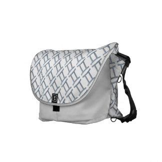 Gemini Zodiac Symbol Element Courier Bag
