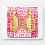 GEMINI Zodiac Symbols Mousepads