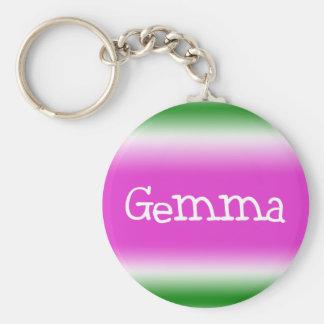 Gemma Keychain