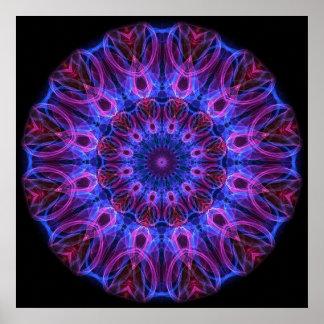 GemRings kaleidoscope Poster