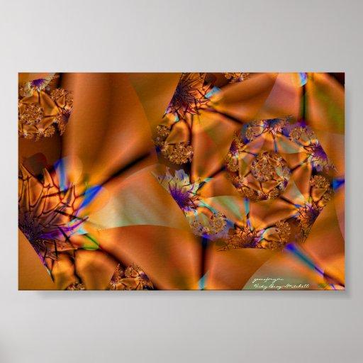Gems For You Fine Fractal Art Poster