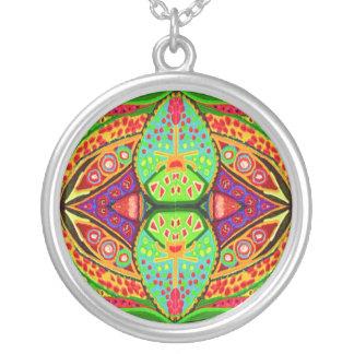 Gems n Jewels - Green Blue Red Golden Pendants