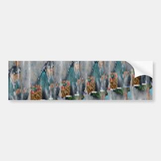 Gems n Marvellous Marble Stones Bumper Sticker
