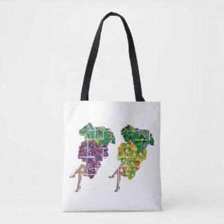 Gems of Grapes Tote Bag