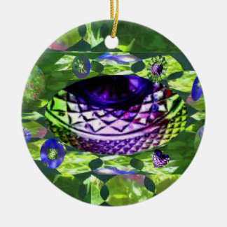 Gems of Hope Surface Round Ceramic Decoration
