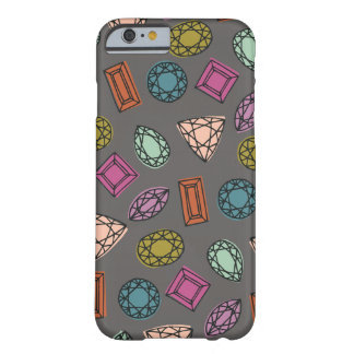Gems Phone Case - Charcoal