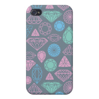 Gemstone Icon Pattern Case For The iPhone 4