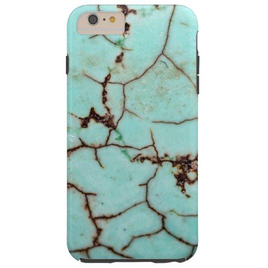 Gemstone Series - Turquoise Cracked Tough iPhone 6 Plus Case