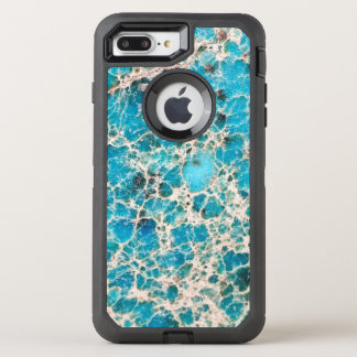 Gemstone Series - Vintage Turquoise OtterBox Defender iPhone 8 Plus/7 Plus Case