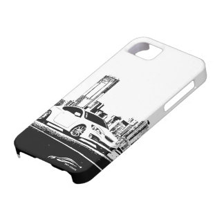 Gen Coupe with City Backdrop Barely There iPhone 5 Case
