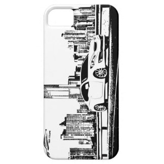 Gen Coupe with City Backdrop iPhone 5 Cover