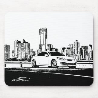 Gen Coupe with City Scape backdrop Mouse Mat