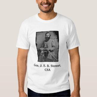 Gen. J. E. B. Stewart, CSA Tshirt